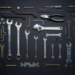 Set of tools to illustrate best ways to transport tools