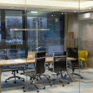 Empty Modern Office to illustrate movers newberg oregon