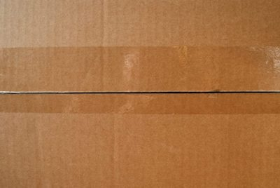 image of a packing box with fragile packed items