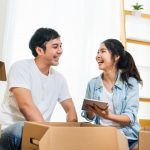 couple planning a move in the portland or area