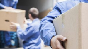 movers to illustrate residential loading and unloading